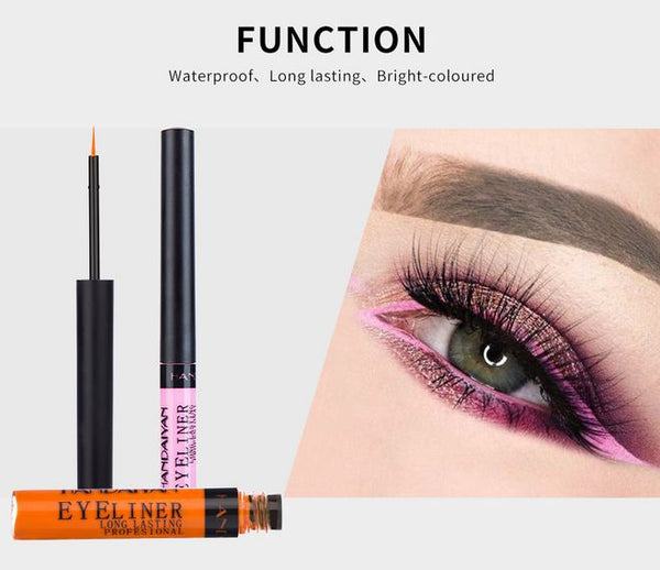 Liquid Matte Eyeliner | 12 Color | Vivid Bright