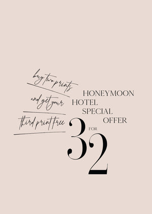 3 FOR 2 - SPECIAL OFFER - HONEYMOON HOTEL