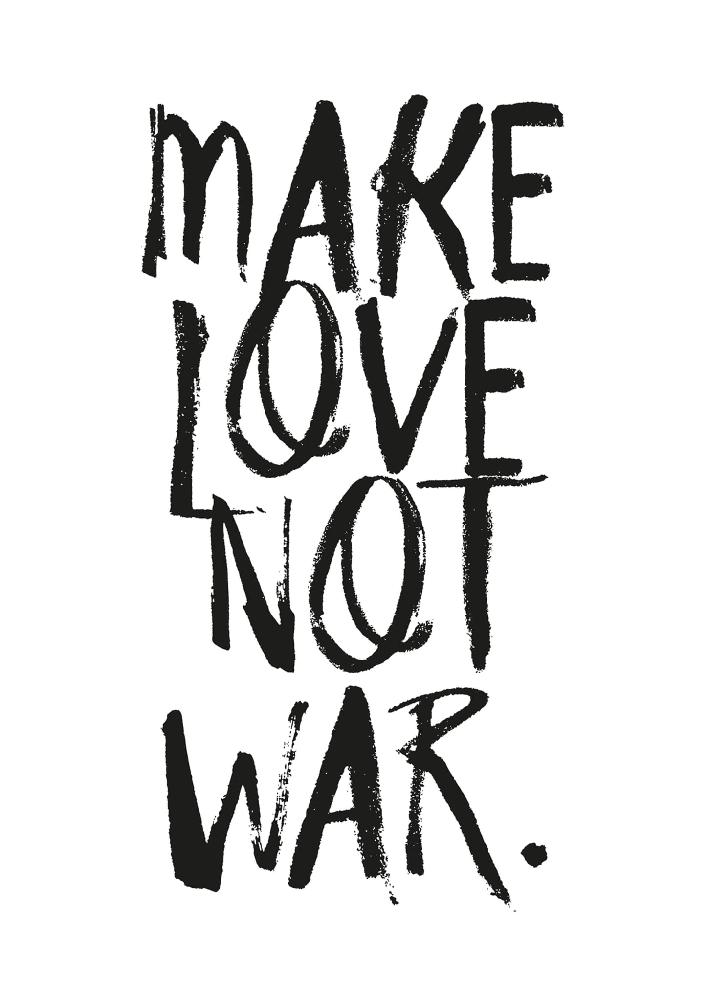 MAKE LOVE NOT WAR - HONEYMOON HOTEL