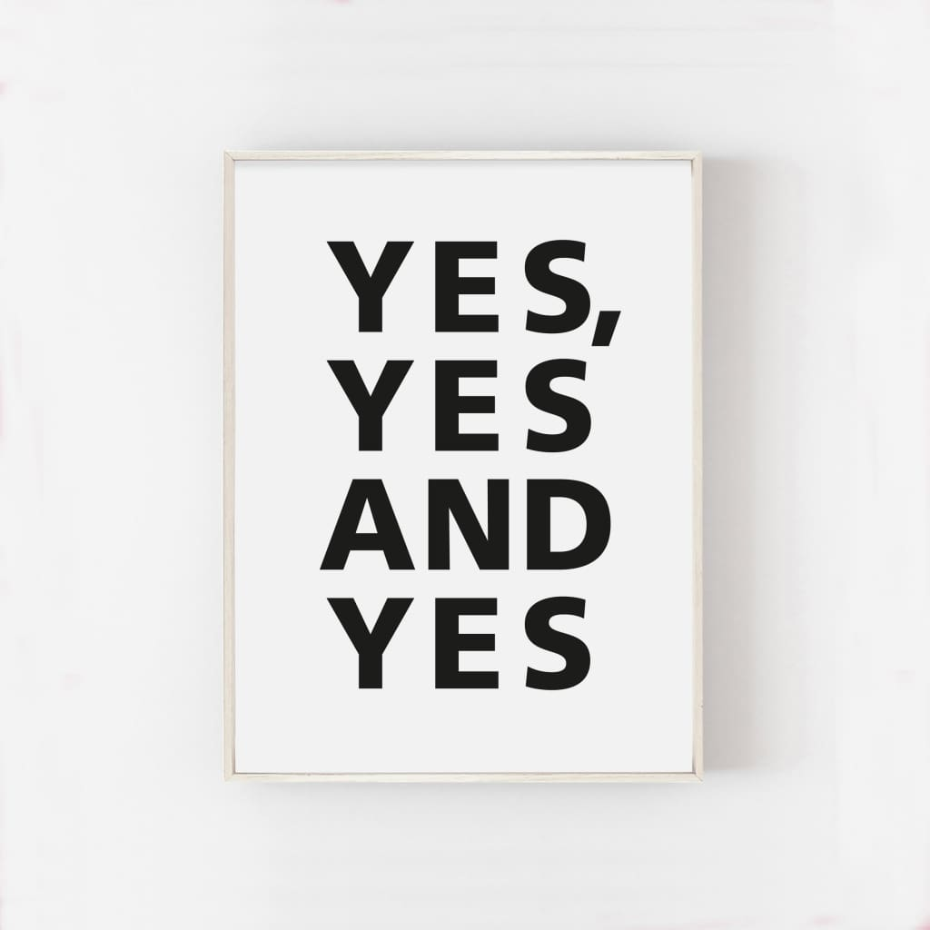 YES YES AND YES - PHYSICAL