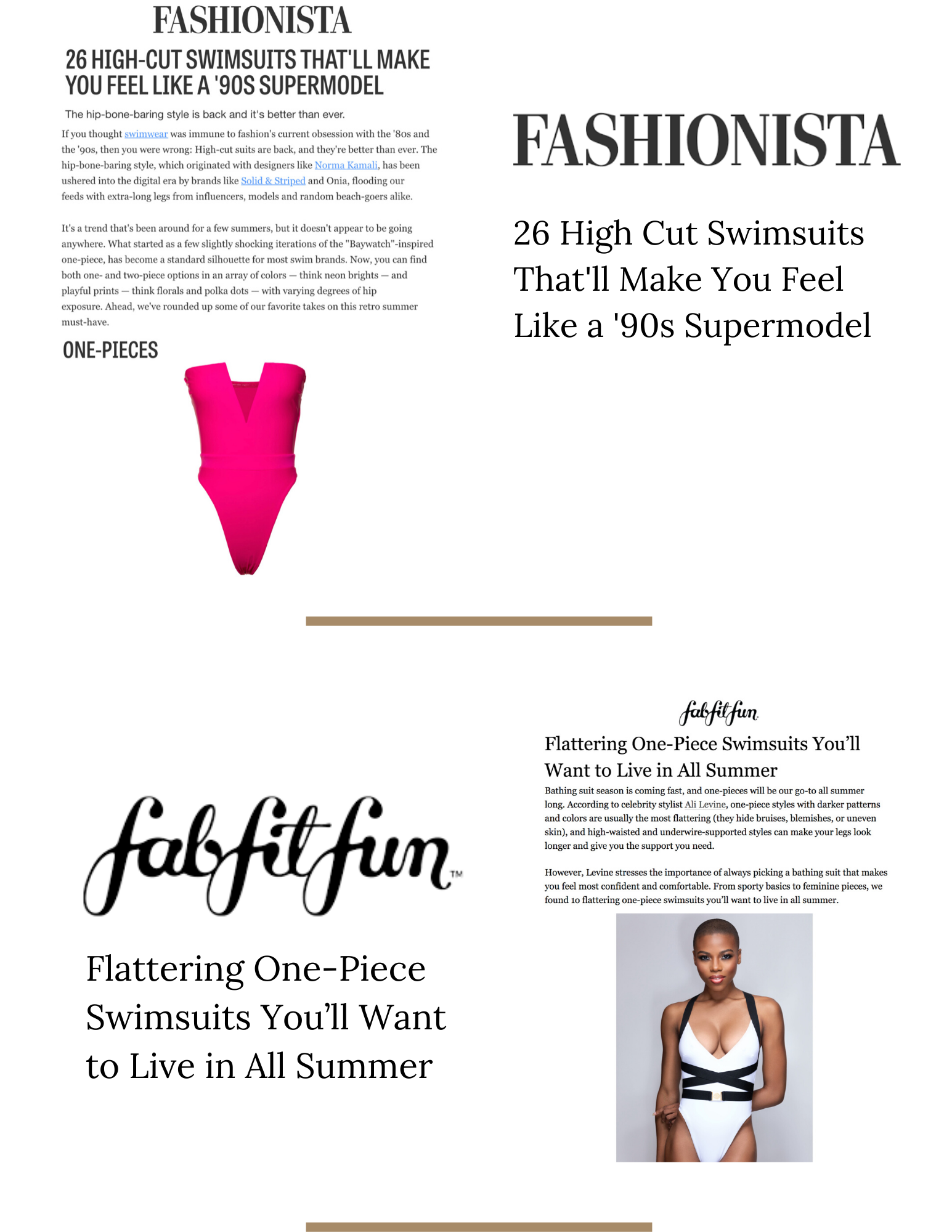 MBM Swim Press - Fashionista & Fab Fit Fun