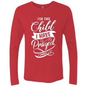 For The Child I Have Prayed