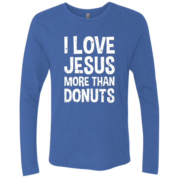 I Love Jesus More Than Donuts