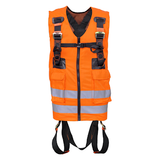 Orange High-Visibility 2 Point Full Body Harness - FA 10 303 00