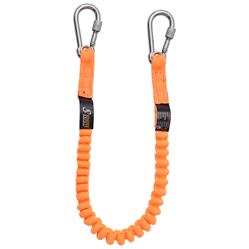 Stretch Lanyard with Integrated Karabiners for Connecting Tools - TS 90 001 06