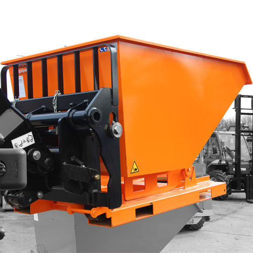 Fork Mounted Tipping Skip FHA