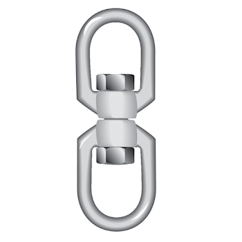 Stainless Steel Swivels Eye - Eye - SSSEE