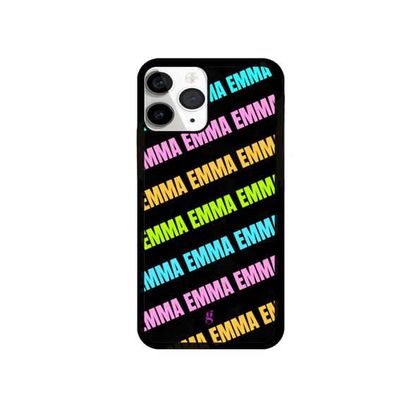 Personalised Neon Phone Case