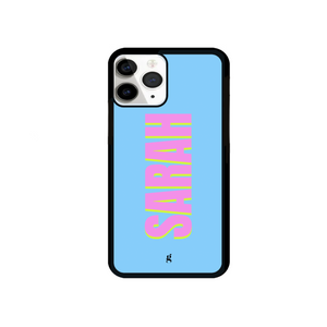 Personalised 3D Blue Phone Case