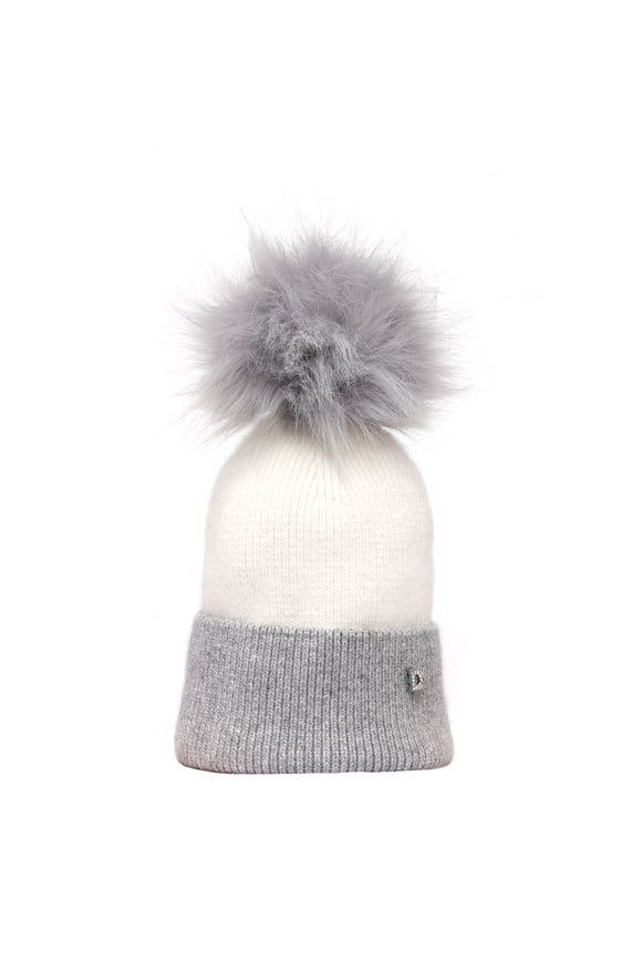Personalised Plush Pom Hat