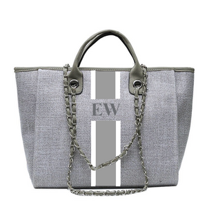 Personalised Tote Bag - Grey