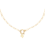 Linked Star Sign Necklace - 14K Gold Plated