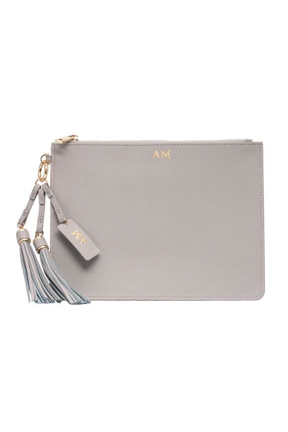 Olivia  Pouch - Stone