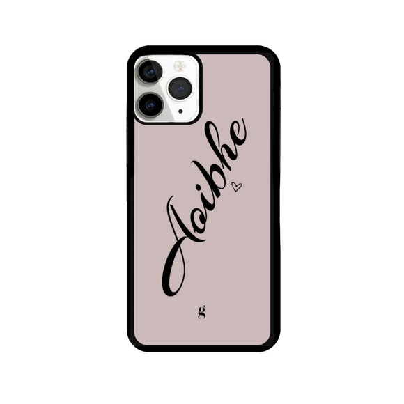 Personalised Script Heart Phone Case