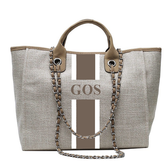 Personalised Tote Bag - Beige