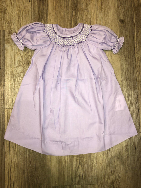 Mom & Me Lavender Bishop Dress