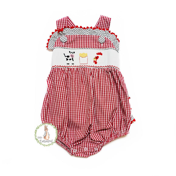 THREE SISTERS KIDS MEAL SMOCKED BUBBLE