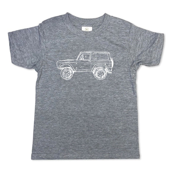 Honey Bee Tees Gray 4x4 Truck T-Shirt
