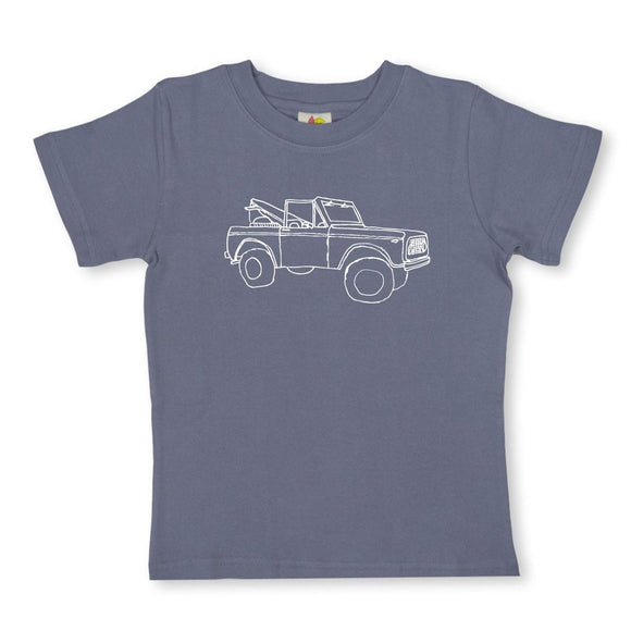 Honey Bee Tees Gray Old Truck