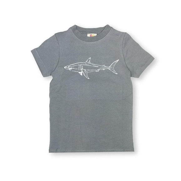 Honey Bee Tees Gray Shark T-Shirt