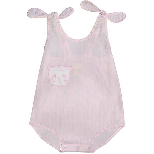 Pixie Lily Pink Kitty Sunsuit