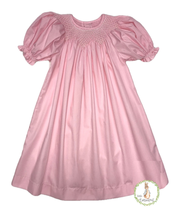 Mom & Me Light Pink Bishop Dress