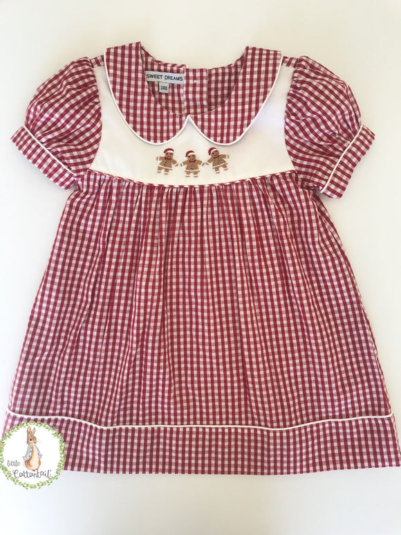 Sweet Dreams Girl Gingerbread Dress