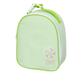 Mint Seersucker Gumdrop Lunchbox