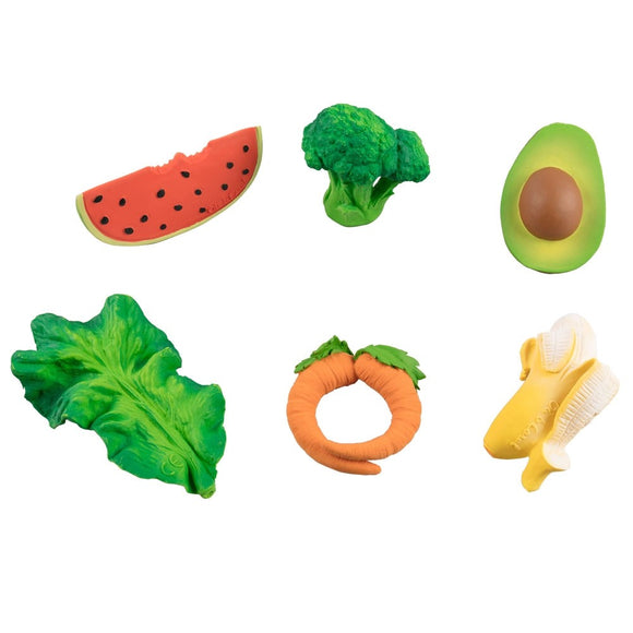Oli & Carol Fruit and Vegetables Toys