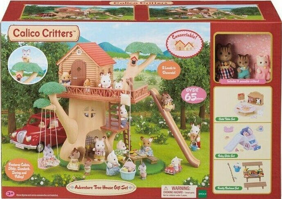Calico Critters Adventure Treehouse BONUS Play Set