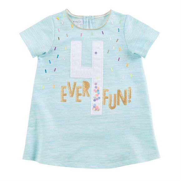 Mud Pie Girls Birthday Shirts