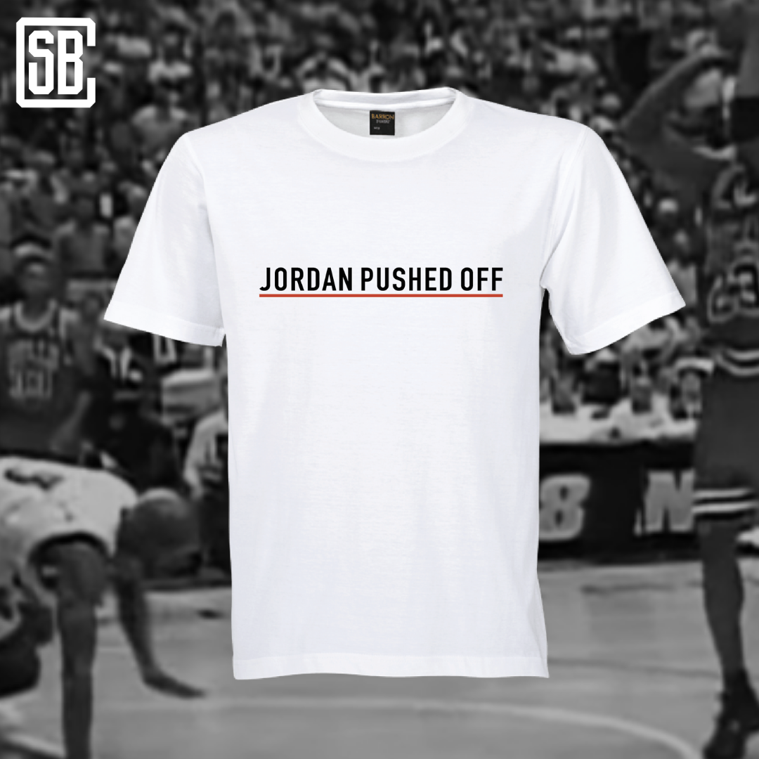Jordan Pushed Off