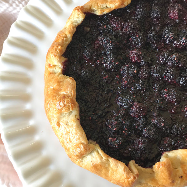 Blackberry Cardamom Tart