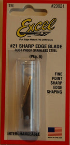 Excel 20021 Sharp Edge Blade (5 pcs)