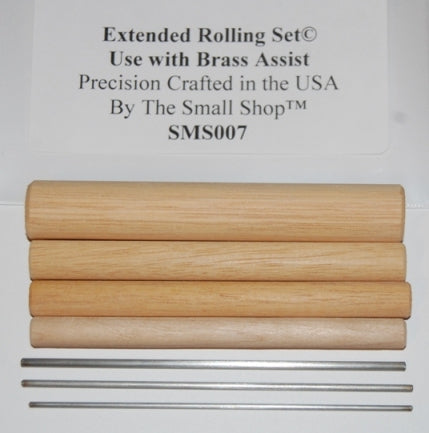 SMS007 Photoetch Extended Roller Set Use with SMS006 Brass Assist