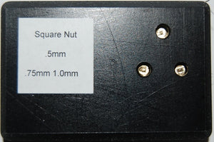 SMS011 Nutter Square Nut Tip Set (for use with SMS009)
