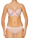 Lauma, Pink Underwired Half-padded Bra, On Model Front, 02H40