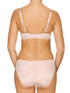 Lauma, Pink Underwired Half-padded Bra, On Model Back, 02H40