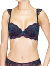Lauma, Violet Lace Push Up Bra, On Model Front, 03J12