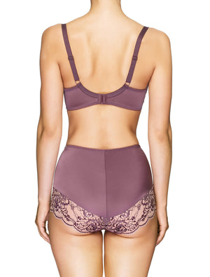 Lauma, Violet High Waist Panties, On Model Back, 03J51