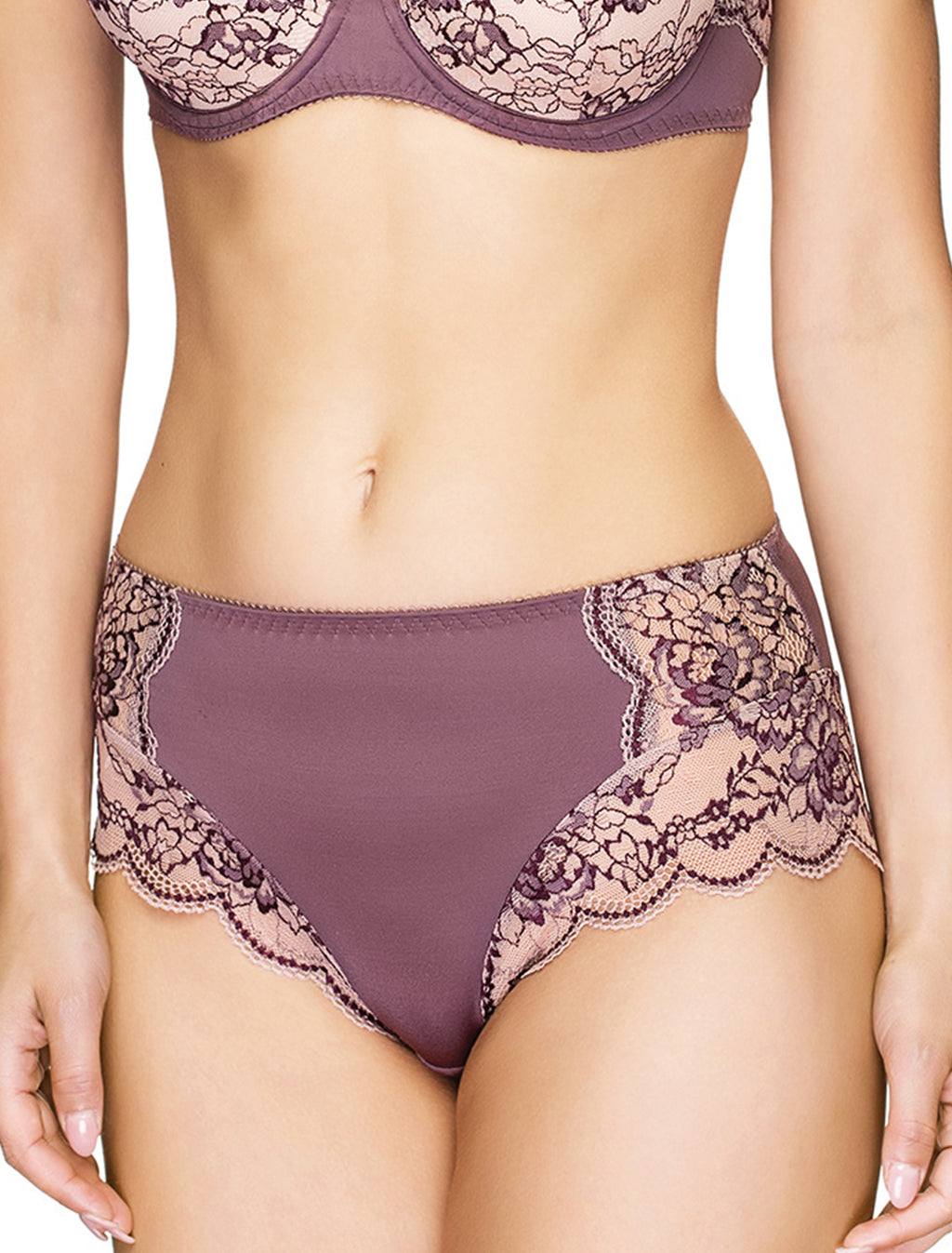 Autumn Duet Mid Waist Panties