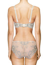 Lauma, Ivory Mid Waist Lace Panties, On Model Back, 04J50