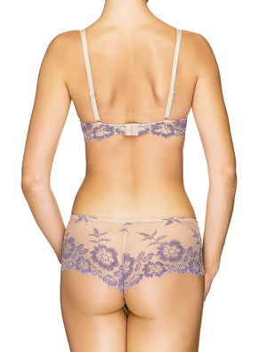 Lauma, Nude Lace Shorts Panties, On Model Back, 04J70
