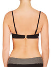 Lauma, Black Bandeau Bikini Top, On Model Back, 06G31