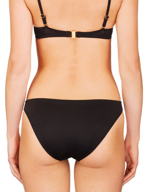 Lauma, Black Bikini Bottom, On Model Back, 06G50