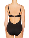 Lauma, Black Push Up Swimsuit, On Model Back, 06G80