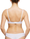 Lauma, White Push Up Bra, On Model Back, 08C15