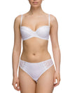 Lauma, White Push Up Bra, On Model Front, 08C15