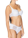 Lauma, White Underwired Padded Bra, On Model Front, 08C30