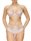 Lauma, Nude Underwired Padded Bra, On Model Front, 08C30